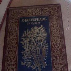 Libros de segunda mano: TRAGEDIAS DE SHAKESPEARE. Lote 45012588