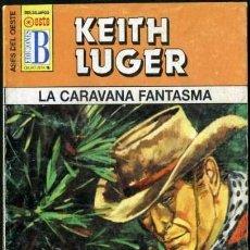 Libros de segunda mano: LA CARAVANA FANTASMA - AÑO 1996 - COLECCION ASES DEL OESTE NOVELA DE BOLSILLO ORIGINAL -. Lote 45090035