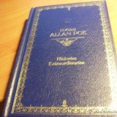 Libros de segunda mano: HISTORIAS EXTRAORDINARIAS (EDGAR ALLAN POE) TAPA DURA (LB17). Lote 45141271