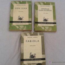 Libros de segunda mano - Lote de 3 libros colección austral n.2 - 45329996