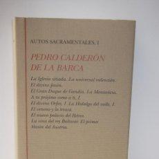 Libros de segunda mano: PEDRO CALDERÓN DE LA BARCA: AUTOS SACRAMENTALES, I (TURNER) (CB). Lote 45333801