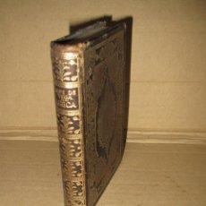 Libros de segunda mano: MONTANER Y SIMÓN - POLIMNIA LIBRO MINIATURA LIRICA POR LOPE DE VEGA PLENA PIEL - BARCELONA AÑO 1943. Lote 45354169