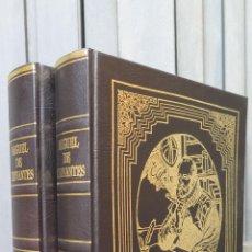 Libros de segunda mano: EL INGENIOSO HIDALGO DON QUIJOTE DE LA MANCHA. CERVANTES. 2 TOMOS. RUEDA. Lote 45433074