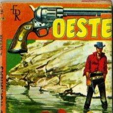 Libros de segunda mano: HIENAS HUMANAS - AÑO 1961 - NOVELA DE BOLSILLO ORIGINAL - ES DEL OESTE. Lote 45507276