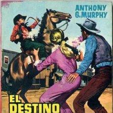 Libros de segunda mano: EL DETINO ES LEY - AÑO 1962 - NOVELA DE BOLSILLO ORIGINAL - ES DEL OESTE. Lote 45507380