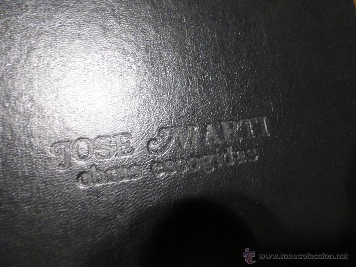 Libros de segunda mano: José Martí Obras escogidas . 3 tomos - CENTRO DE ESTUDIOS MARTIANOS - LA HABANA (CUBA) 1978 - Foto 11 - 45555650