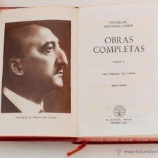 Libros de segunda mano: OBRAS COMPLETAS. TOMO I. WENCESLAO FENANDEZ FLOREZ. AGUILAR. 1946.. Lote 45786576