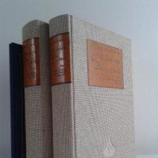 Libros de segunda mano: EL INGENIOSO HIDALGO DON QUIJOTE DE LA MANCHA. MIGUEL DE CERVANTES SAAVEDRA. 2 TOMOS. AÑO 1995. Lote 45808618