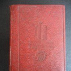 Libros de segunda mano: PEPITA JIMENEZ. JUAN VALERA. COLECCION CRISOL Nº 14. AGUILAR 1959. PIEL. 7 X 9 CMS. CINTA MARGAPAGIN. Lote 45835144
