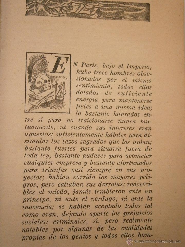 Libros de segunda mano: HISTORIA DE LOS TRECE Honore de Balzac Ayma 1 edicion 1941 - Foto 6 - 45904365