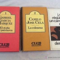 Libros de segunda mano: LOTE DE 2 LIBROS CLUB BRUGUERA + REGALO. Lote 45986935