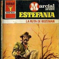 Libros de segunda mano: LA RUTA DE BOZEMAN - AÑO 1979 - NOVELA ESTEFANIA DE BOLSILLO - ES ORIGINAL - ES DEL OESTE. Lote 46198830