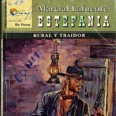 Libros de segunda mano: RURAL Y TRAIDOR - AÑO 2005 - NOVELA ESTEFANIA DEL OESTE ES DE BOLSILLO. Lote 46375419