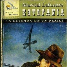 Libros de segunda mano: LA LEYENDA DE UN FRAILE - AÑO 2003 - NOVELA ESTEFANIA DEL OESTE ES DE BOLSILLO. Lote 46375427