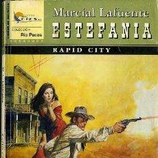 Libros de segunda mano: RAPID CITY - AÑO 2002 - NOVELA ESTEFANIA DEL OESTE ES DE BOLSILLO. Lote 46375444