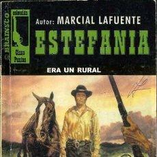 Libros de segunda mano: ERA UN RURAL - AÑO 2004 - NOVELA ESTEFANIA DEL OESTE ES DE BOLSILLO. Lote 46375661