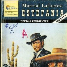 Libros de segunda mano: DEUDAS PENDIENTES - AÑO 2006 - NOVELA ESTEFANIA DEL OESTE ES DE BOLSILLO. Lote 46375669