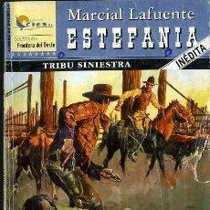 Libros de segunda mano: TRIBU SINIESTRA - AÑO 2004 - NOVELA ESTEFANIA DEL OESTE ES DE BOLSILLO. Lote 46375671