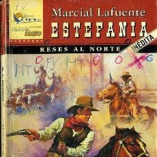 Libros de segunda mano: RESES AL NORTE - AÑO 2002 - NOVELA ESTEFANIA DEL OESTE ES DE BOLSILLO. Lote 46375675
