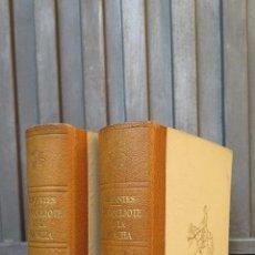 Libros de segunda mano: 1962.- EL INGENIOSO HIDALGO DON QUIJOTE DE LA MANCHA. MIGUEL DE CERVANTES. ILUSTRADO. 2 TOMOS. Lote 46426008