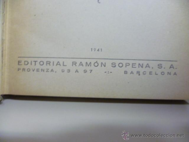 Libros de segunda mano: VIAJE AL CENTRO DE LA TIERRA. JULIO VERNE. Ramón Sopena, Col. Biblioteca de Grandes Novelas, 1941 - Foto 4 - 46617045