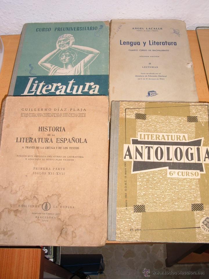 LOTE ANTIGUOS LIBROS DE LITERATURA (Libros de Segunda Mano (posteriores a 1936) - Literatura - Narrativa - Clásicos)