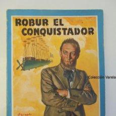 Libros de segunda mano: ROBUR EL CONQUISTADOR - JULIO VERNE - COLECCIÓN MOLINO Nº 27 - ARGENTINA - RÚSTICA - JLV. Lote 46675912