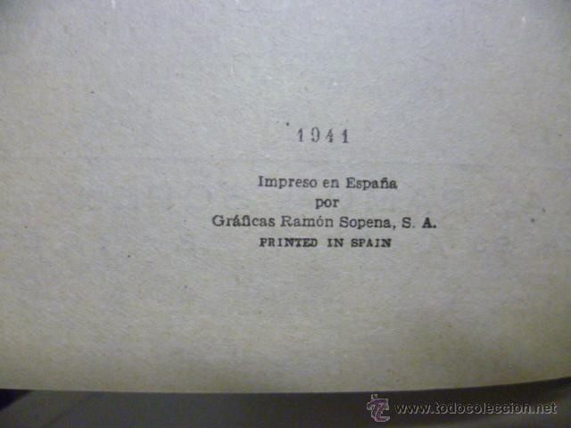 Libros de segunda mano: LOS HIJOS DEL CAPITÁN GRANT / TOMO II / JULIO VERNE / ED. RAMÓN SOPENA 1941 - Foto 3 - 46701982