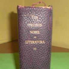 Libros de segunda mano: LOS PREMIOS NOBEL DE LITERATURA VOL. II JOSÉ JANER EDITOR BARCELONA 1955 DESCRIPCION MUY COMPLETA. Lote 46956332