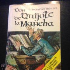 Libros de segunda mano: DON QUIJOTE DE LA MANCHA. MIGUEL DE CERVANTES SAAVEDRA. Lote 46967011
