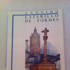 Libros de segunda mano: LIBRO. LAZARILLO DE TORMES. ANONIMO. EDIT. DIDACTICA ANAYA. ANGEL BASANTA.. Lote 46986022