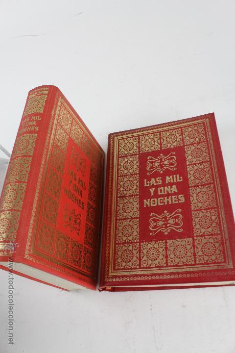 L- 734LAS MIL Y UNA NOCHES. 2 TOMOS. EDICION EXCLUSIVA DE MAIL IBERICA / EDAF. AÑO 1968. ILUSTRADOS. (Libros de Segunda Mano (posteriores a 1936) - Literatura - Narrativa - Clásicos)