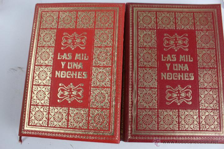 Libros de segunda mano: L- 734LAS MIL Y UNA NOCHES. 2 TOMOS. EDICION EXCLUSIVA DE MAIL IBERICA / EDAF. AÑO 1968. ILUSTRADOS. - Foto 6 - 47159050