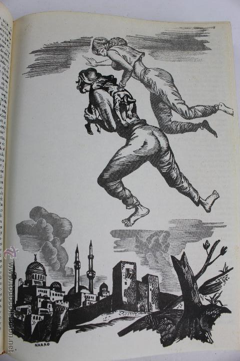 Libros de segunda mano: L- 734LAS MIL Y UNA NOCHES. 2 TOMOS. EDICION EXCLUSIVA DE MAIL IBERICA / EDAF. AÑO 1968. ILUSTRADOS. - Foto 9 - 47159050