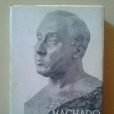 Libros de segunda mano: MACHADO - SOLEDADES, GALERIAS Y OTROS POEMAS / CAMPOS DE CASTILLA / ELOGIOS / NUEVAS CANCIONES. Lote 47212346