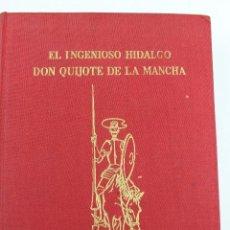 Libros de segunda mano: L-275. DON QUIJOTE DE LA MANCHA. M. DE CERVANTES. J. PEREZ DEL HOYO ED. 520 GRABADOS. AÑO 1963.. Lote 47224914