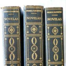 Libros de segunda mano: NOVELAS DE SLAUGHTER, FRANK G. --TRES TOMOS AÑO 1958 SLAUGHTER, FRANK G. NOVELAS.. Lote 47266726