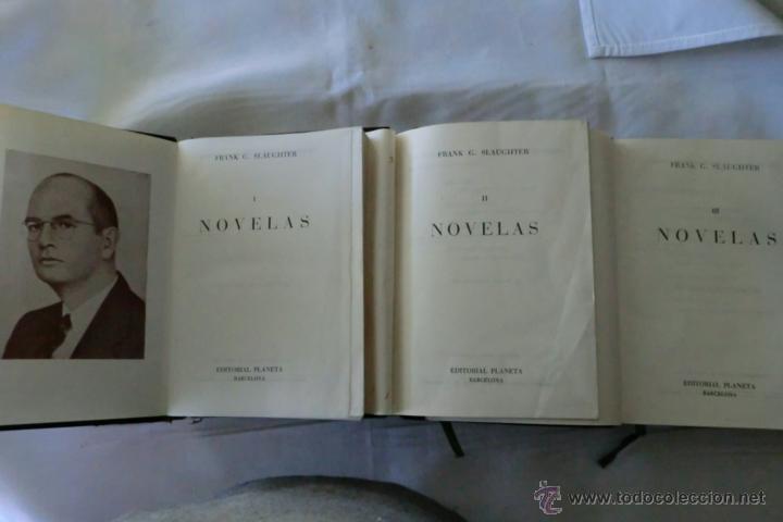 Libros de segunda mano: NOVELAS DE SLAUGHTER, Frank G. --TRES TOMOS AÑO 1958 SLAUGHTER, Frank G. Novelas. - Foto 3 - 47266726