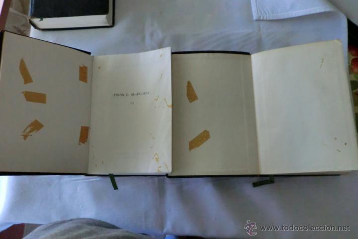 Libros de segunda mano: NOVELAS DE SLAUGHTER, Frank G. --TRES TOMOS AÑO 1958 SLAUGHTER, Frank G. Novelas. - Foto 5 - 47266726