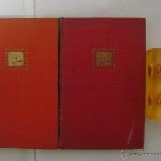 Libros de segunda mano: SHAKESPEARE. DRAMAS. OBRA COMPLETA EN 2 VOLÚMENES.1945.OBRAS MAESTRAS. Lote 47541089
