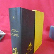 Libros de segunda mano: DON QUIJOTE DE LA MANCHA. MIGUEL DE CERVANTES. ESPASA. 1998.. Lote 47607420