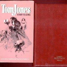 Libros de segunda mano: TOM JONES. HENRY FIELDING EDIT. BRUGUERA. 1ED.1972 913 PAGS.. Lote 47668508