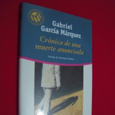 Libros de segunda mano: CRONICA DE UNA MUERTE ANUNCIADA - GABRIEL GARCIA MARQUEZ. Lote 106097879