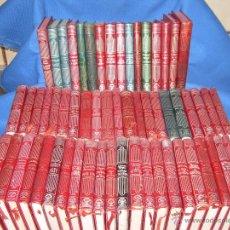 Libros de segunda mano: GRAN LOTE CON 59 LIBROS CRISOL DE AGUILAR - SON LOS DE LAS FOTOS - VER RELACION DE NUMEROS. Lote 48367444