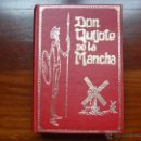 Libros de segunda mano: QUIJOTE DE LA MANCHA LETRA GRANDE ILUSTRACIONES DORE PETRONIO 1973. Lote 48371107