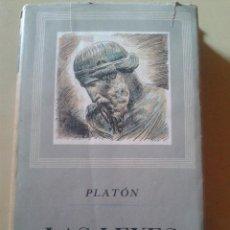 Libros de segunda mano: LAS LEYES (VOLUMEN I) - PLATON. Lote 48538144