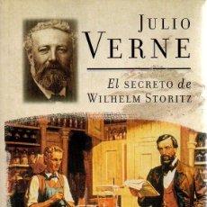 Libros de segunda mano: EL SECRETO DE WILHELM STORITZ. JULIO VERNE, PLAZA & JANES, 1ª EDICIÓN, 2001. Lote 48542566