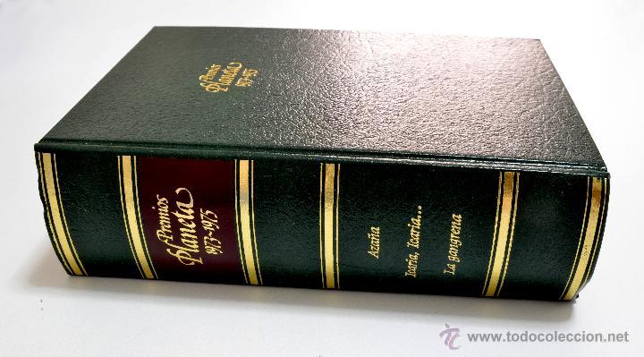 PREMIOS PLANETA 1973-1975 AZAÑA, ICARIA-ICARIA LA GANGRENA ED.PLANETA 1979 (Libros de Segunda Mano (posteriores a 1936) - Literatura - Narrativa - Clásicos)