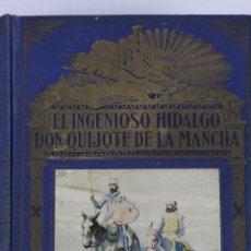 Libros de segunda mano: L- 802. EL INGENIOSO HIDALGO DON QUIJOTE DE LA MANCHA. EDIT. RAMON SOPENA. EDICION CENTENARIO. 1940. Lote 195344606