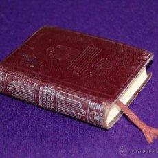 Libros de segunda mano: CRISOLIN 11 ORIGINAL. ANDANZAS Y VISIONES ESPAÑOLAS. MIGUEL DE UNAMUNO.1957.PIEL.EDIT AGUILAR. 6X8CM. Lote 49162299